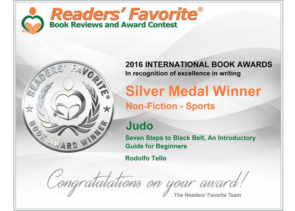 judo book award