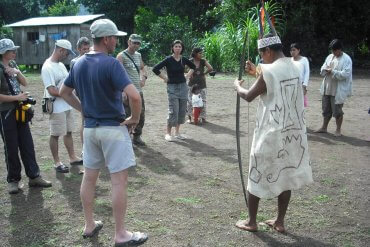 Queros Wachiperi cultural tourism
