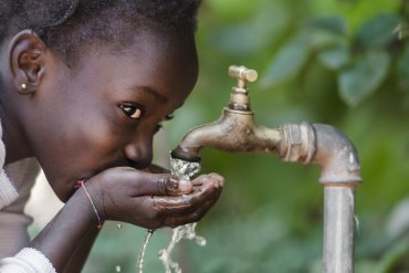 foreign aid tap water